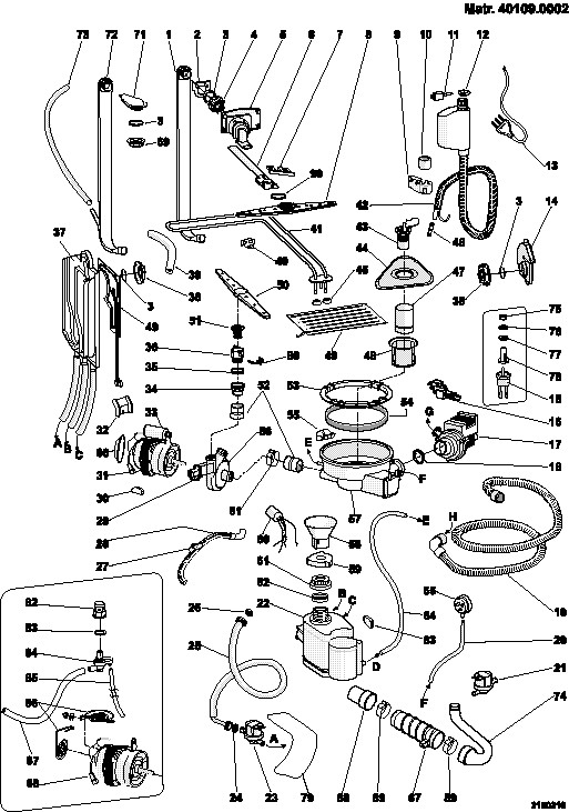 794108 DG6100WE 37169030100 further 110819 also Coffee Maker Diagram as well Nachtmann High Quality Coaster Rumba Crystal Glass 15 Cm Made In Germany 78680 EN further Miele Butter Tray For Refrigerator 7283560 46834. on senseo parts